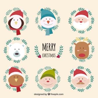 Lustige Weihnachts Zeichen