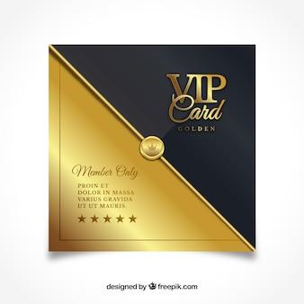 Luxuriöse vip Einladung