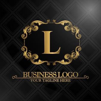 Luxus Geschäftslogo