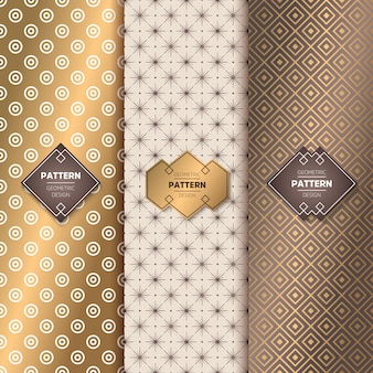 Luxus-Gold-Muster colletcion