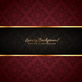 Luxus-goldenen Hintergrund