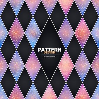 Luxus nahtlose Muster Design