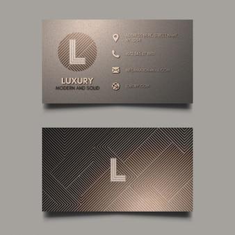 Luxus Visitenkarte Vorlage