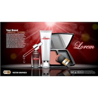 Make-up Flyer Vorlage