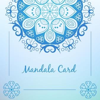 Mandala Kartenentwurf