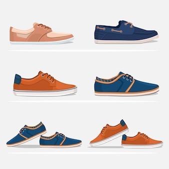 Männer Schuhe Set