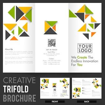 Marketing-Bericht Corporate kreative Broschüre