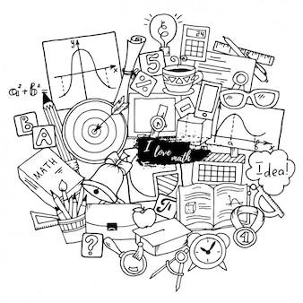 Mathe Hintergrund-Design