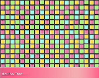 Mehrfarbige Quadrate Hintergrund