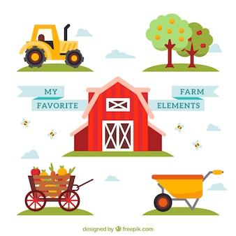 Meine Lieblings Bauernhof Elemente