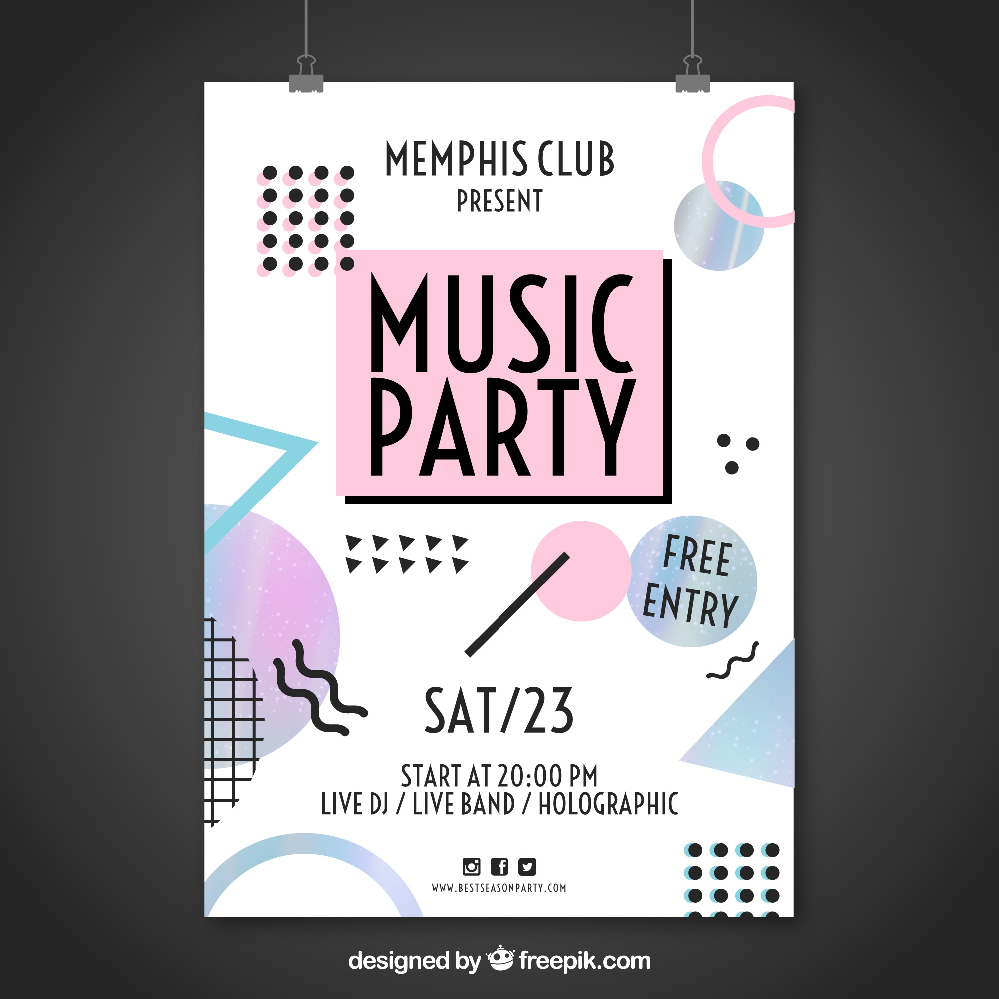 Memphis Partymusik Poster