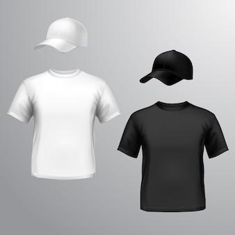 Mens T-Shirt Baseball Cap