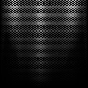 Metall-Hintergrund mit einem Spotlight