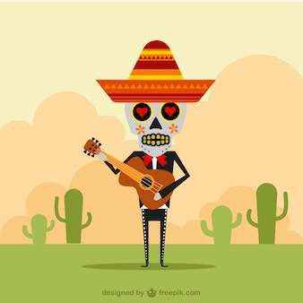 Mexikanische Mariachi-