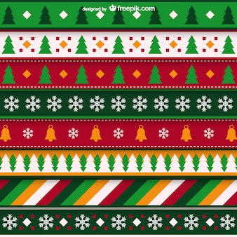 Minimalist Weihnachtsmuster