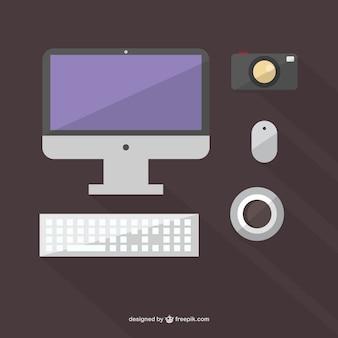 Minimalistisch arbeiten mit Vektorobjekten