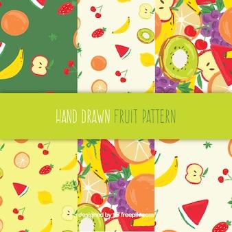 Mix Obst Muster Sammlung