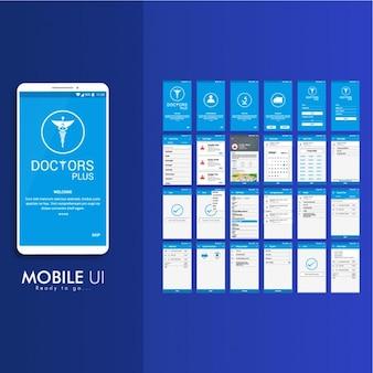 Mobile-Anwendung für Krankheiten