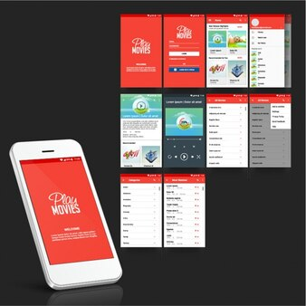 Mobile App für Filme