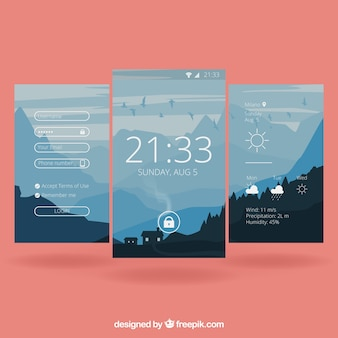 Mobile Landschaft Wallpaper
