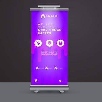Modern Roll Up Banner