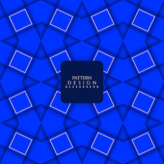 Moderne blaue Farbe nahtlose Muster Hintergrund
