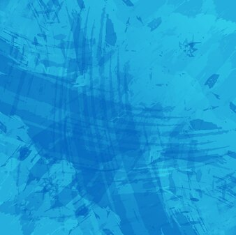 Moderne blauen Aquarell Hintergrund