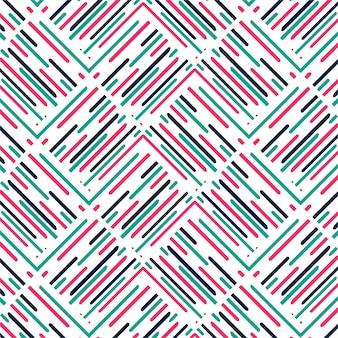 Moderne bunte Muster Hintergrund