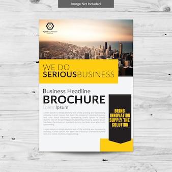Moderne Business-Broschüre