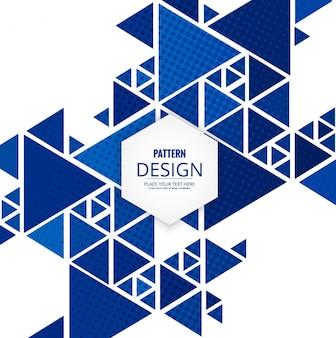 Moderne Dreieck Muster Hintergrund