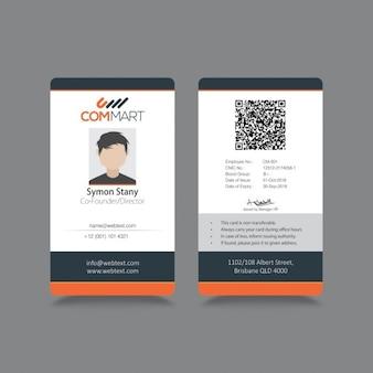 Moderne einfache ID Corporate Identity