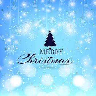 Moderne Frohe Weihnachten Hintergrund
