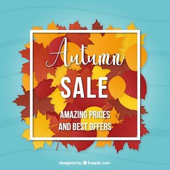 Moderne Herbst Verkauf Zusammensetzung