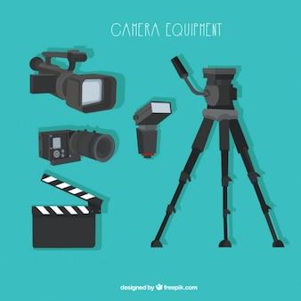 Moderne Kameraausrüstung