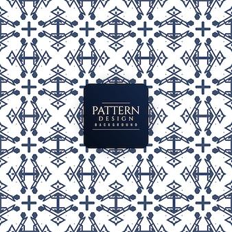 Moderne nahtlose geometrische Muster Hintergrund