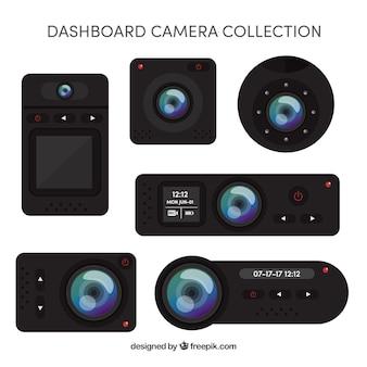 Moderne realistische Kamerasammlung