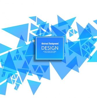 Modernen blauen geometrischen Hintergrund
