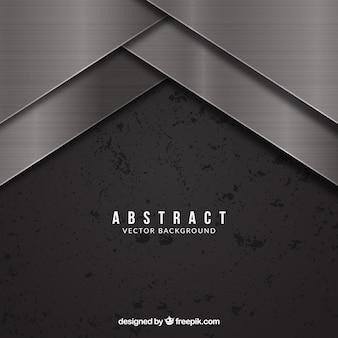 Moderner Hintergrund mit metallischem Design
