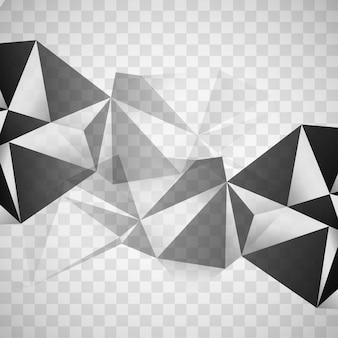 Moderner Polygonhintergrund