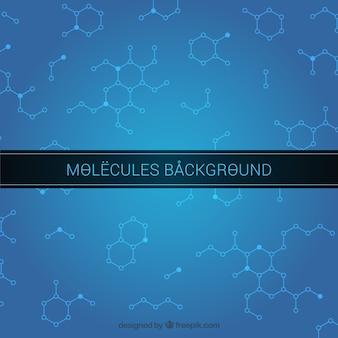 Moleküle Hintergrunddesign