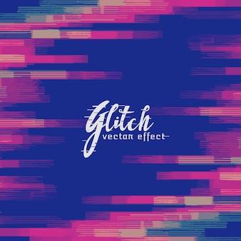 Monitor Glitch Hintergrund Vektor