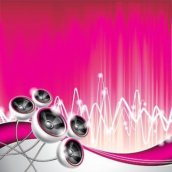 Musik backgorund Design