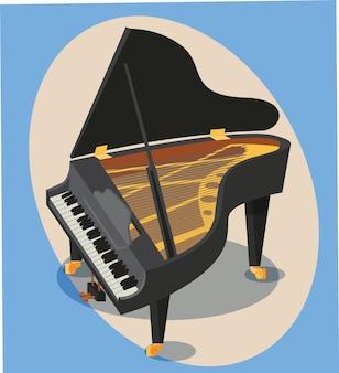 Musik-Objekte Vektor-Illustration für Design
