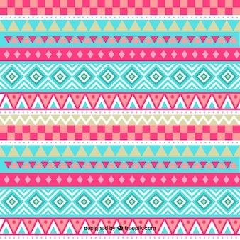 Muster mit geometrischen Bändern