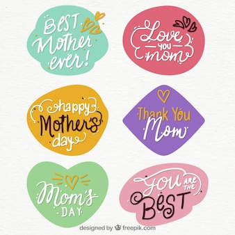 Muttertagszitataufkleber