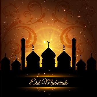Nacht ramadan Hintergrund Design
