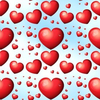Nahtlose Herzen