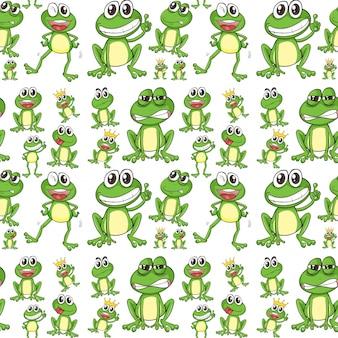 Nahtloser Frosch