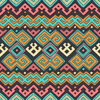 Nahtloses ethnisches Muster