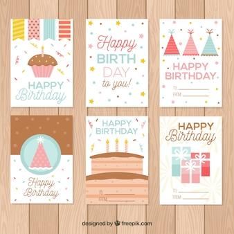 Nette Geburtstagskarten Sammlung